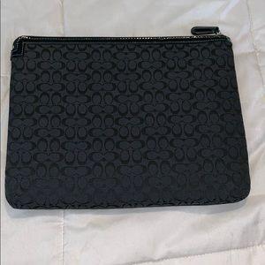 Coach iPad tablet case large clutch - B